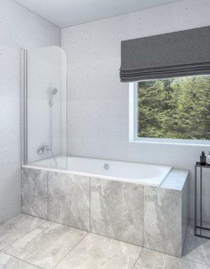 Vonios sienelė, sienelė voniai