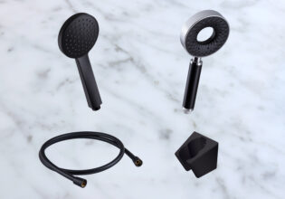 New In: Modern Black Shower Products!